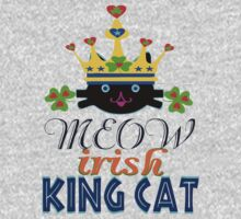 ㋡♥♫Irish King Cat Fantabulous Clothing & Stickers♪♥㋡ One Piece - Long Sleeve