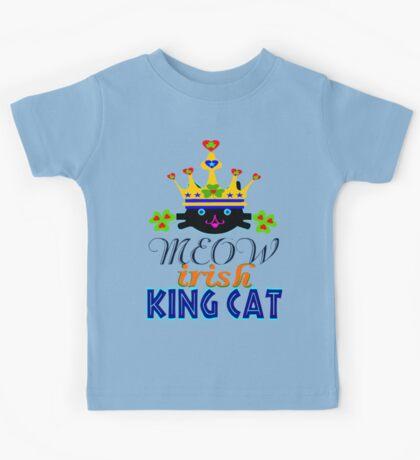 ㋡♥♫Irish King Cat Fantabulous Clothing & Stickers♪♥㋡ Kids Tee