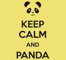 Keep Calm and Panda Kids Clothes