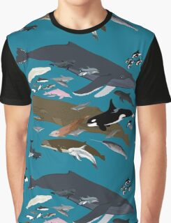 I Am Thankful For Cetaceans Graphic T-Shirt