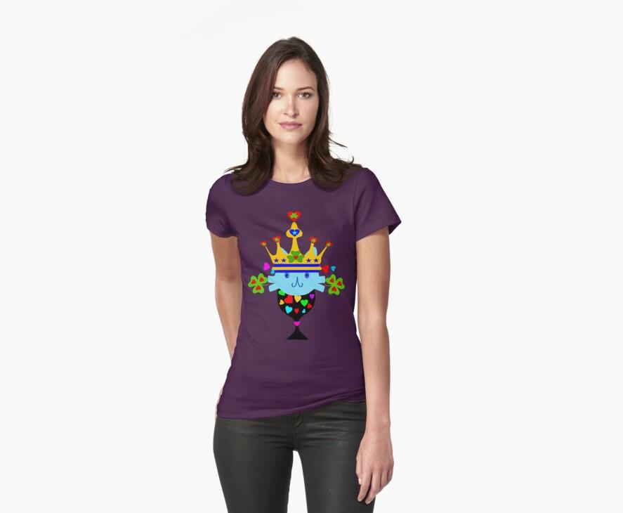 ㋡♥♫Irish Shamrock Crowned Cat Fantabulous Clothing & Stickers♪♥㋡ by Fantabulous