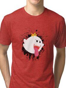 King Boo Splattery Design Tri-blend T-Shirt