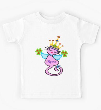 ㋡♥♫Swanky Irish Queen Cat Fantabulous Clothing & Stickers♪♥㋡ Kids Tee