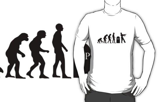 Evolution of the Zombie by xceedingarc