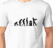 Evolution of the Zombie Unisex T-Shirt