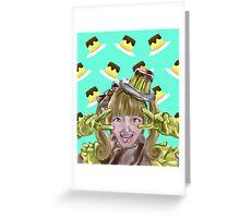 Kyary Pamyu Pamyu - Pudding Greeting Card