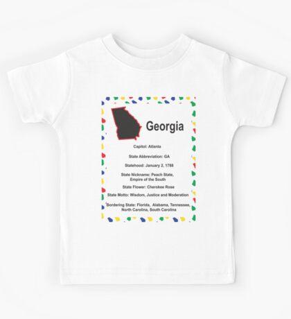Georgia Information Educational Kids Tee