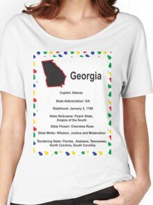 Georgia Information Educational Women's Relaxed Fit T-Shirt