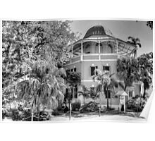 The Nassau Public Library in Shirley Street, The Bahamas Poster