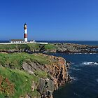 Boddam Lighthouse by Maria Gaellman