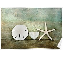 Sand Stone & Star Poster