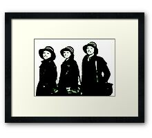 Jonny Ray And Dodo Framed Print