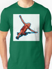 christie retro skateboard 1970 Unisex T-Shirt