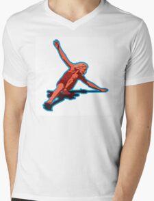 christie retro skateboard 1970 Mens V-Neck T-Shirt