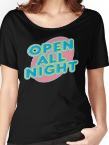 "Bowling ""OPEN ALL NIGHT"" Women's Relaxed Fit T-Shirt"