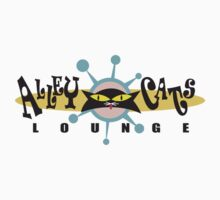 "Bowling ""Alley Cats Lounge"" Retro by SportsT-Shirts"