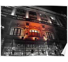 Bordeaux Galeries Lafayette Poster