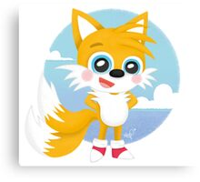 Tails - Sonic Games Canvas Print