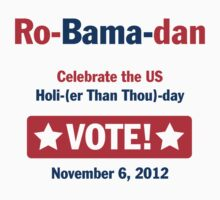 Ro-Bama-dan Holi (Than Thou) day by gstrehlow2011