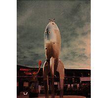 Raygun Gothic Rocketship San Francisco Photographic Print