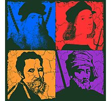 Renaissance Ninjas Photographic Print