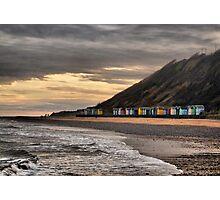 Beach Huts at Cromer  Photographic Print