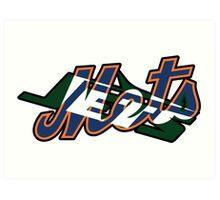 New York Sports Teams 2 -Mets & Jets Art Print