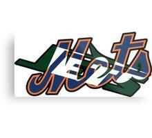 New York Sports Teams 2 -Mets & Jets Metal Print