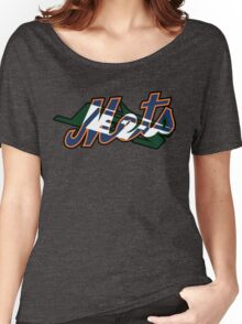 New York Sports Teams 2 -Mets & Jets Women's Relaxed Fit T-Shirt