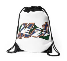 New York Sports Teams 2 -Mets & Jets Drawstring Bag