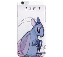 MBTI GHOSTS AND GHOULS- ISFJ BEETLE RAT BUG MOUSE iPhone Case/Skin