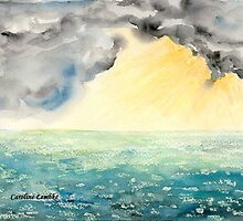 The Light is Coming Through by Caroline  Lembke