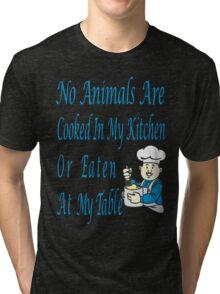 No Animals Tri-blend T-Shirt