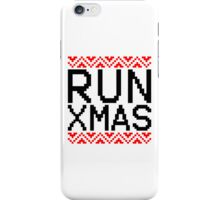 RUN XMAS iPhone Case/Skin