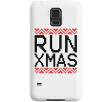 RUN XMAS Samsung Galaxy Case/Skin