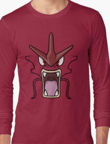 Red Gyarados Long Sleeve T-Shirt