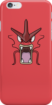 Red Gyarados by TheInternet