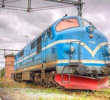 Locomotives of Värnamo VI by João Figueiredo