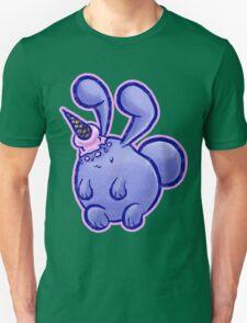 Purple Icecream Bunny Unisex T-Shirt