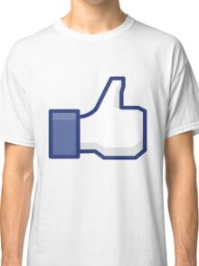 Facebook Like Classic T-Shirt