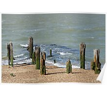 Groyne by the Sea Poster