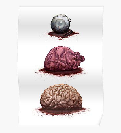 Eye Heart Brains Poster
