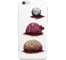 Eye Heart Brains iPhone Case/Skin