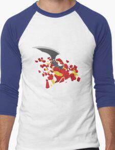 Skill Vs Natural Talent Men's Baseball ¾ T-Shirt
