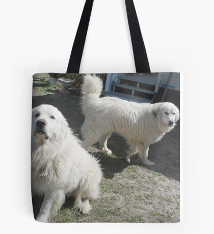 Duke and Frost, the Snowmen Tote Bag