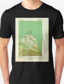 USGS Topo Map Washington State WA Dungeness 240900 1939 62500 T-Shirt