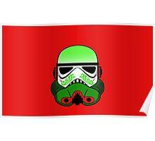 Christmas Stormtrooper Poster