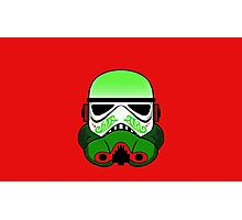 Christmas Stormtrooper Photographic Print
