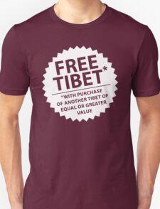 Free Tibet* Unisex T-Shirt