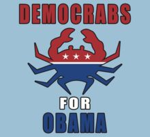 Democrabs For Obama One Piece - Short Sleeve